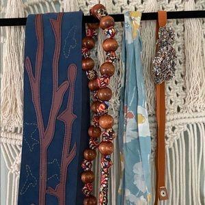 Lot of Anthropologie belts